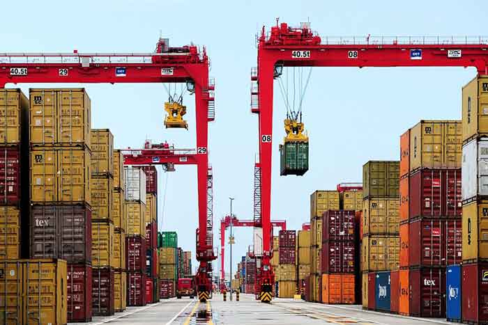 Colombo Container Port (Source: AFP)